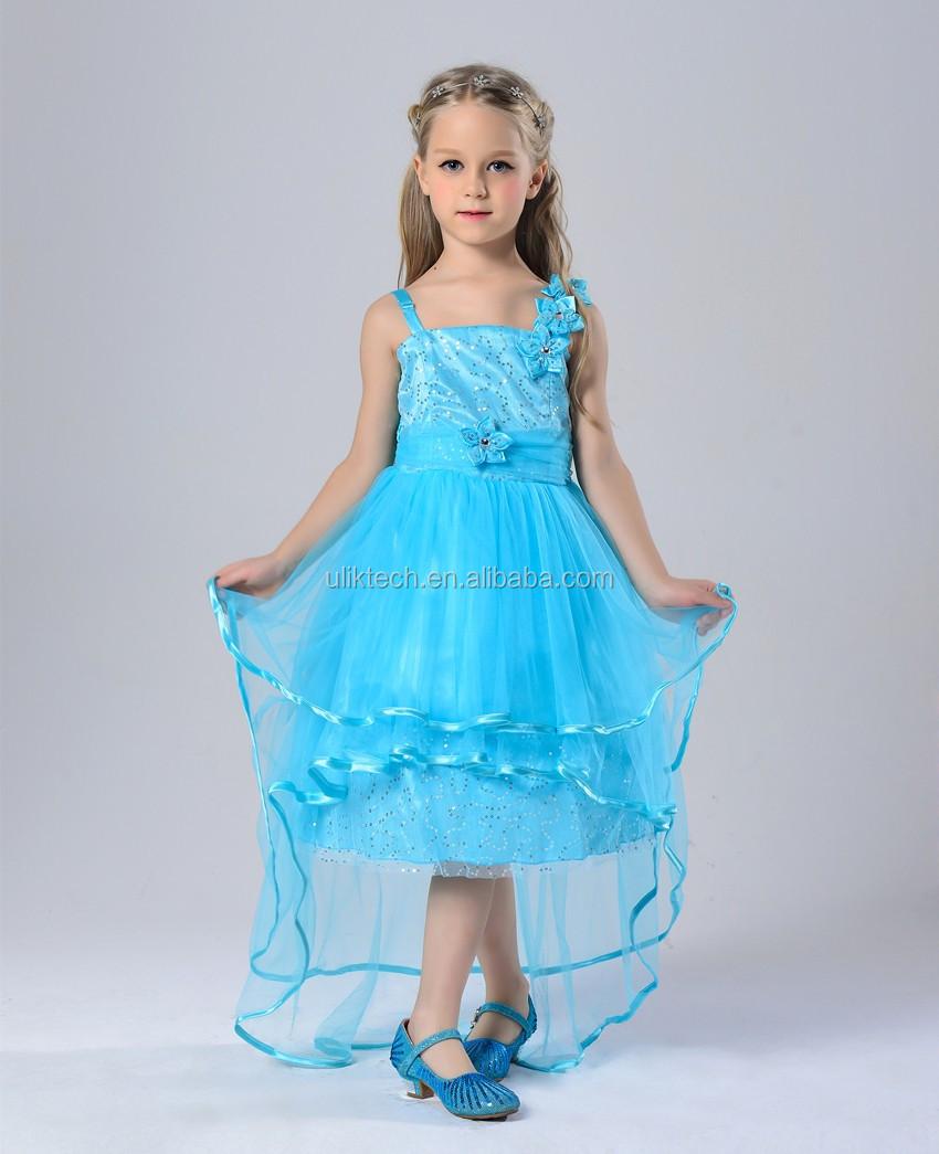 Juegos para niñas vestidos nuevos productos 2016 azul cielo vestido ...