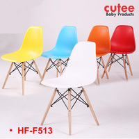 Good Quality Modern Colorful Wooden Lounge Office Leisure Chair
