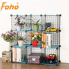 Gardern Wire Frame Metal Sheet Mix-assemble Portable Indoor Plant Shelf