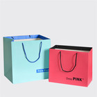 Solid color deluxe custom boutique bags wholesale