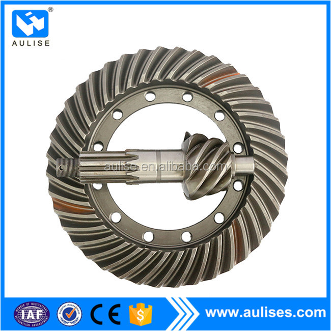 2402C dongfeng EQ1060 pinion of crown driving passive differential reducer drive size passive gear