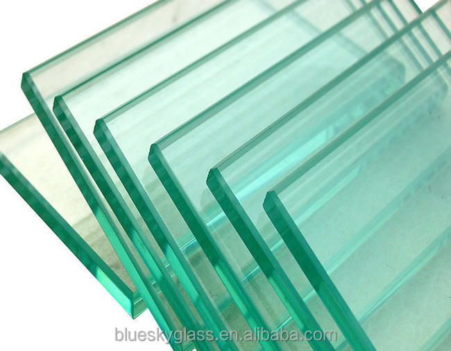 4mm 6mm 8mm 10mm 12mm Thick Tempered Glass For Door Balcony Railing window Floor Plate Glass House