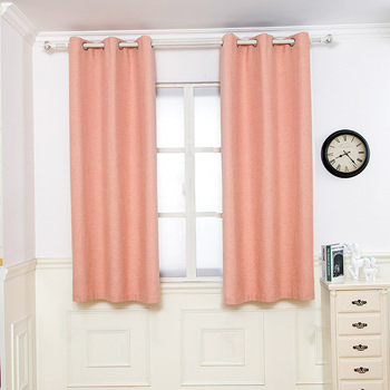 Customized Simple Chenille Jacquard Blackout Window Elegance Curtains Panels Treatments for Bedroom Living Room