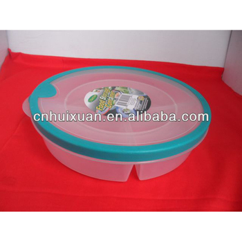 Plastic Food Storage Container with Three Dividers  sc 1 st  Alibaba Wholesale & Plastic Food Storage Container With Three Dividers - Buy Food ...
