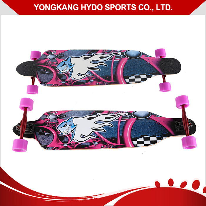 Good reputation 9 Plies longboard skateboard cheap