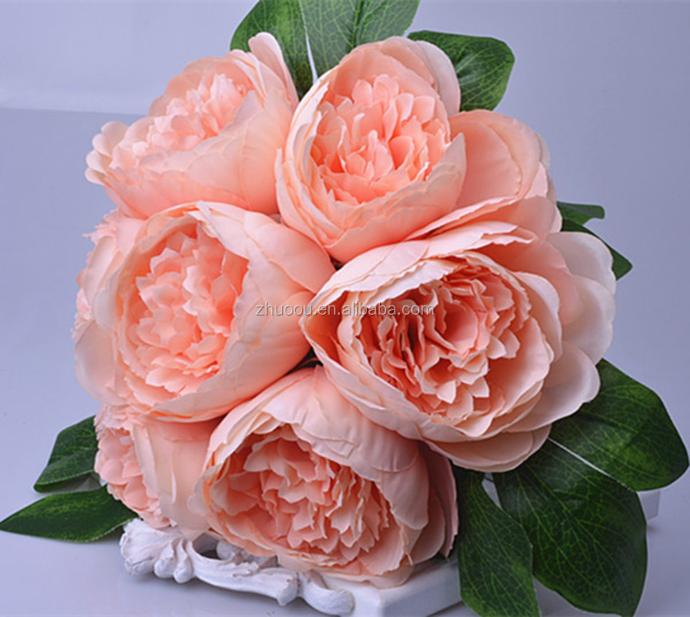 Silk peony bouquet silk peony bouquet suppliers and manufacturers silk peony bouquet silk peony bouquet suppliers and manufacturers at alibaba izmirmasajfo Images