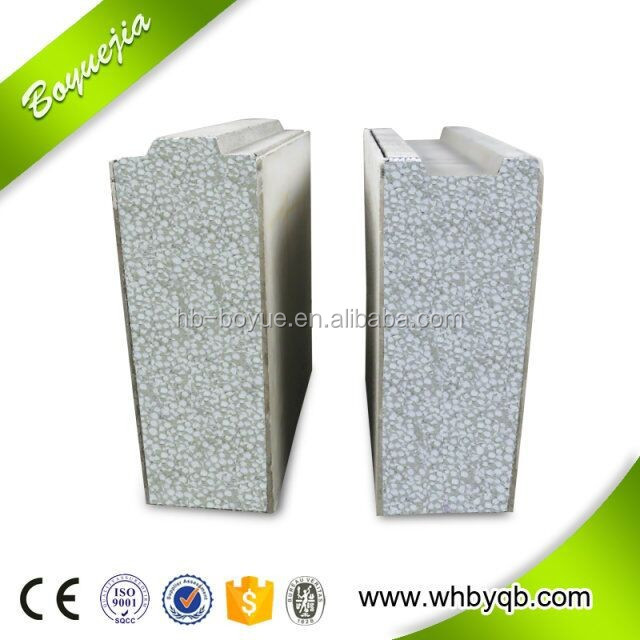 Fire proof precast foam cement wall panel for modular homes