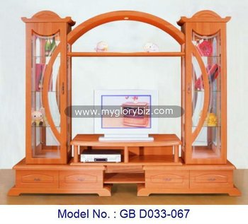 Living Room Tv Cabinet With Showcases Modern Furnituremodern Tv