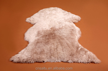 Wool Sheepskin Mat Shaggy Rugs