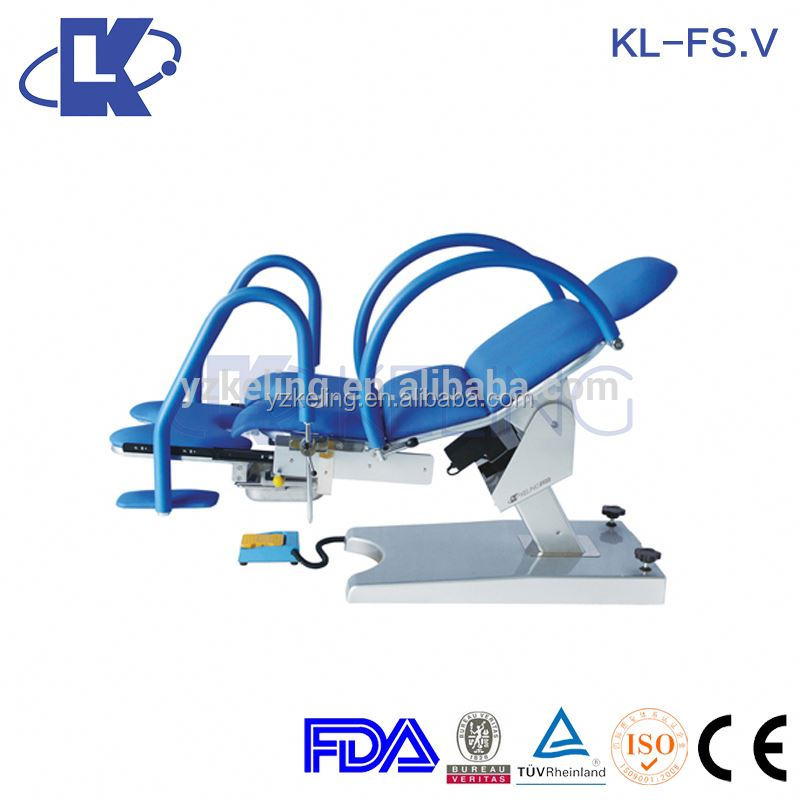 electro pushing rod spring obstetric bed operation traction bed ISO
