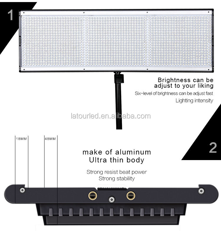 Professional Photo Lighting Equipment Led Panel Studio Light For ...