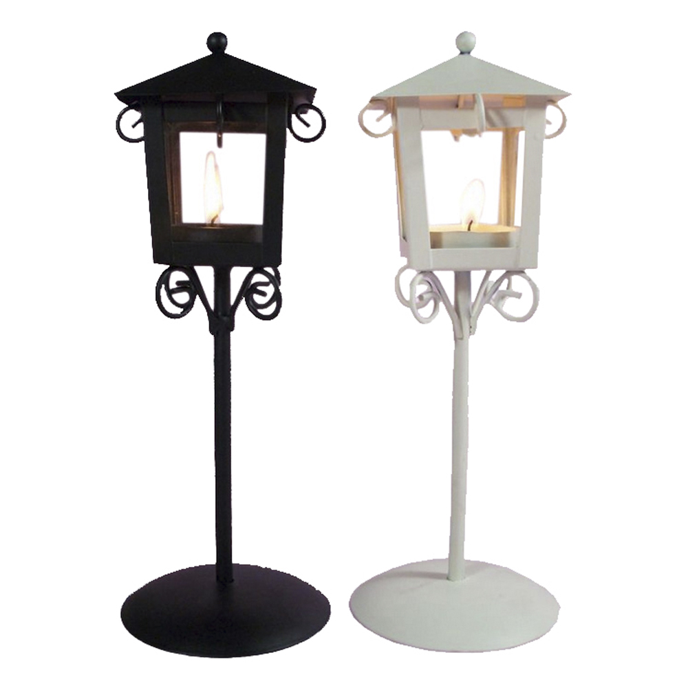 Outdoor Hanging Lanterns With Stand: Jillban Brand New Metal Retro Hanging Candle Holder Tea