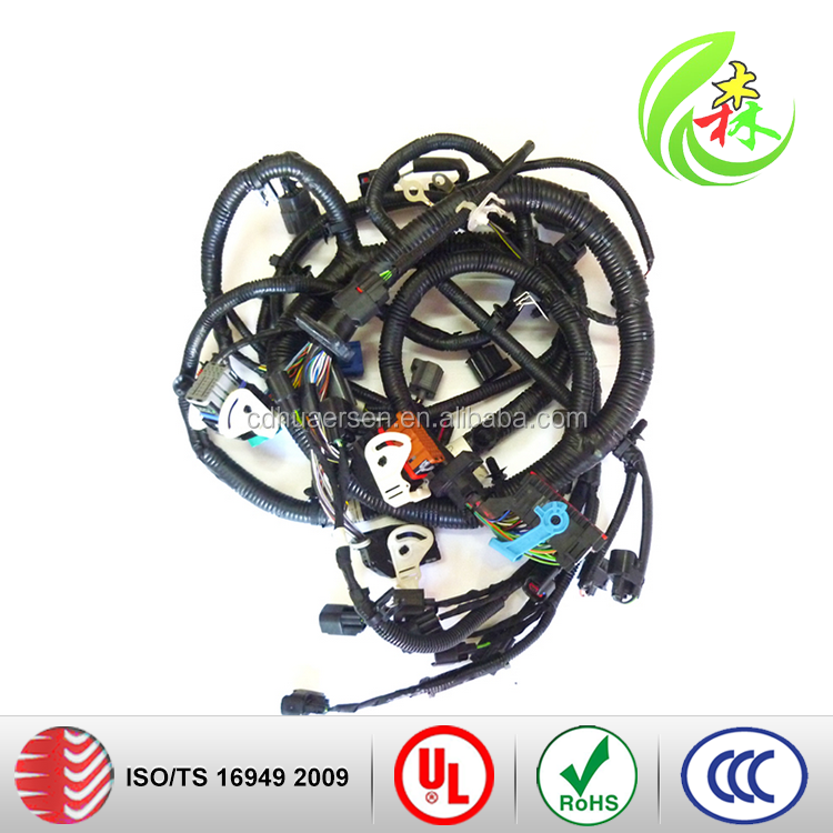 Used On Automotive Engine Nozzle Wiring Harness used engine wiring harness, used engine wiring harness suppliers Custom Automotive Wiring Harness Kits at bayanpartner.co