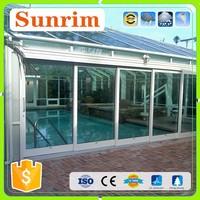 factory design aluminum sun room 3 season room built on deck