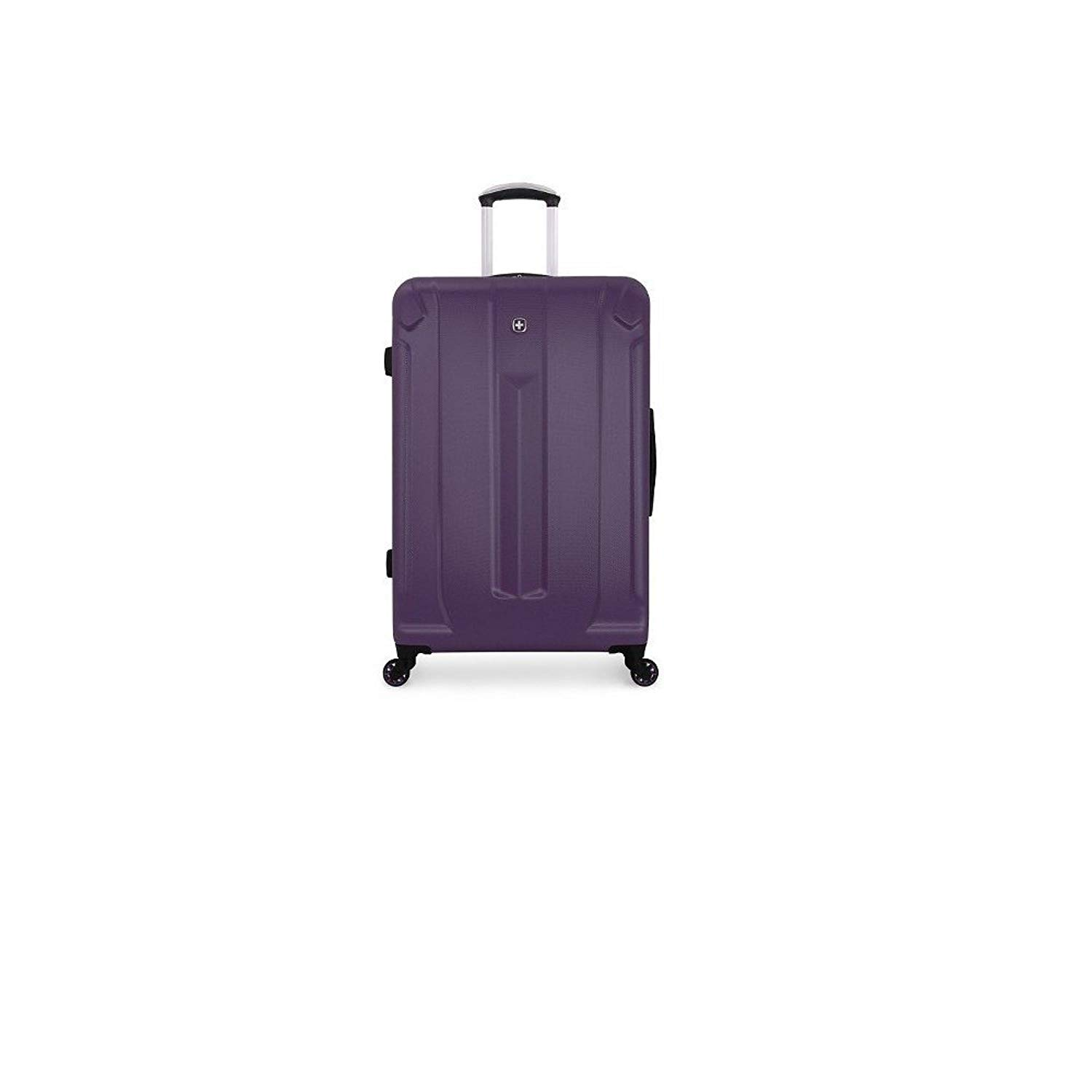 116f63b69d3b Get Quotations · Swiss Gear Purple Hardcover Suitcase