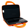 EVA mini Netbook case wrapped with durable nylon for 10-Inch Portable Laptop