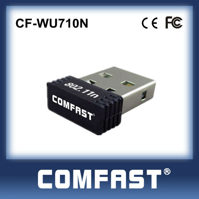 Realtek Mini USB Card Wireless Lan Card Universal USD Adapter Mini WIFI Network Card CF-WU710N