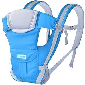 Baby Carrier by Taday - BEST for Newborn, Infant, Toddler, & Child - 4 in 1 - Backpack, Front Facing, Kangaroo, & Sling Positions - Lightweight & Ergonomic Carriers - For Moms & Dads