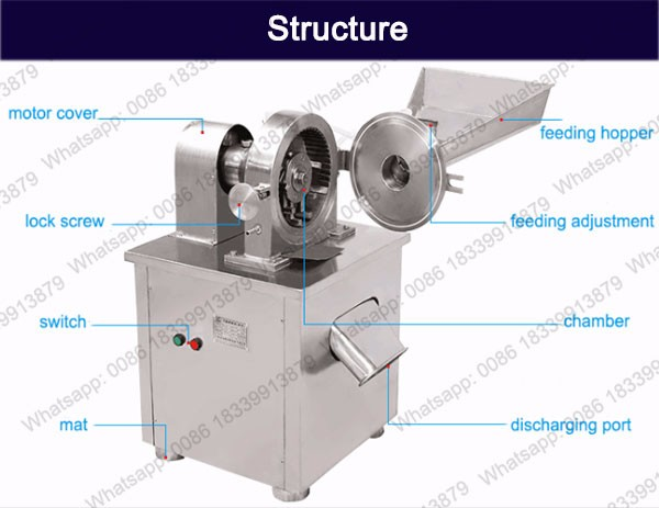 BAT-400A Factory Direct Sale Spice Grinding Machines
