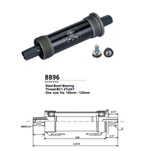 Steel Bowl bicycle bottom bracket