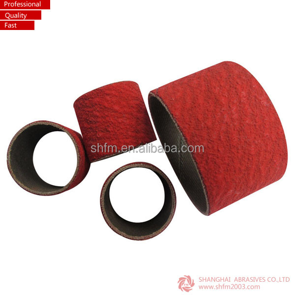 Sanding spiral band for grinding and nail polishing
