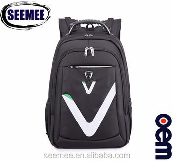 3ff46b2dbd0e Hot Sale Black Nylon Waterproof Biaowang Laptop Backpack - Buy ...