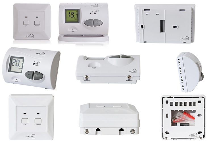 Radio Frequency Wireless Heating Digital Room Radiator Thermostat For Heating System