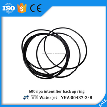 600mpa intensifier Pumps Parts back up ring Water Jet Cutting Machinery