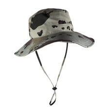 Camouflage Style Fishing Military Bucket Hat Hunting Sun Army Round Brim Camping Boonie Camo hat cap