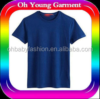 Deep Blue T Shirt For Old Man Farmer Clothes Cheap Summer ...