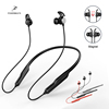 Magnetic Headphones, In-ear Wireless Earbuds Sports Magnetic Earphones Built-in Mic Noise Cancellation