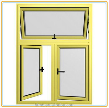 Waterproof and european style aluminum awning windows for European style windows