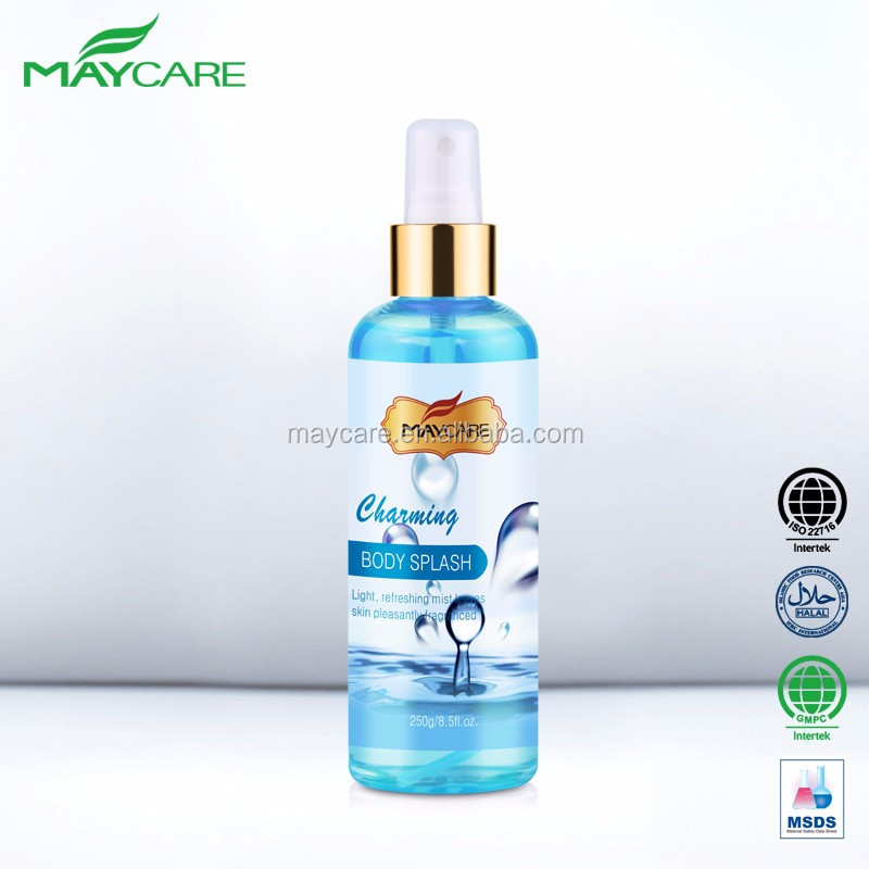 OEM minerals antiperspirant natural coconut extract gentle magic skin care deodorant body spray for women