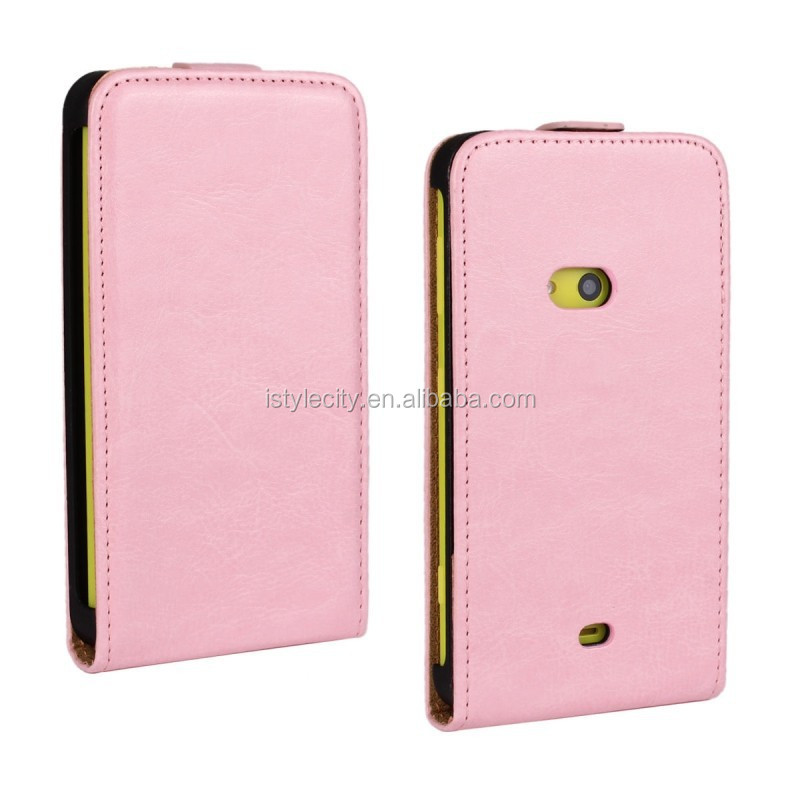 Pink Plain Pattern Hard Case Cover Skin For Nokia Lumia 625