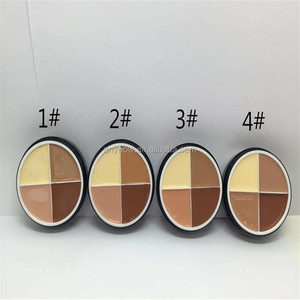 Menow Pro Four-color Facial Makeup Matte Concealer Foundation Cream