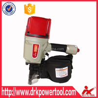 Pallet Coil Nail Gun Manufacturing High Quality China Air Tool Coil Nailer CN100 offters fromDRK Pneumatic Coil Nail Gun Company
