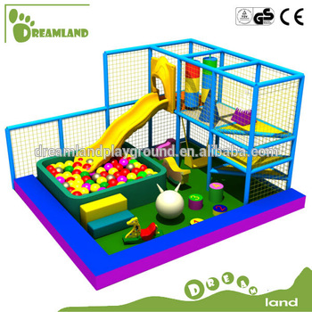 CE approved small area soft kids indoor play equipment for home ...