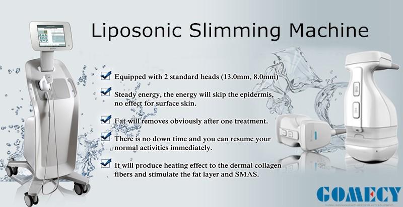 Vertical High Quality Salon Use Ultrasound Liposonix Hifushape Slimming Body Shaping Machine With Best Price