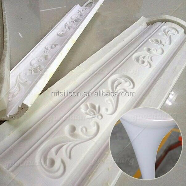Liquid silicone rubber for artificial stone mold making