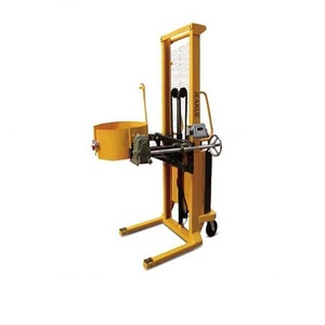 360 degrees rotation manual hydraulic oil drum lifter