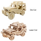 Wooden Car Puzzle 3D Assembly Toy Vehicle for kids