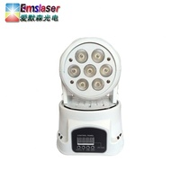 Mini Led Party Effect 7*10W Rgbw Beam Moving Head Light For Disco Stage