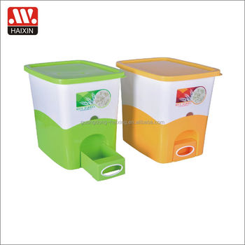 Hot Sale Storage Container Dispenser Plastic Pp Plastic Rice Box