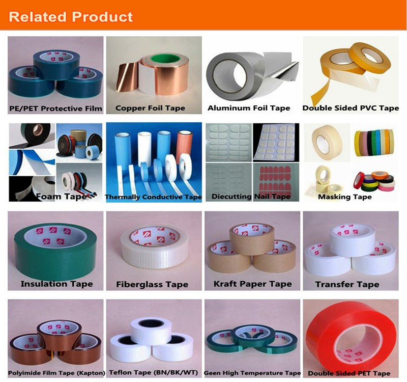 China factory directly sell cheap Double Sided Tissue Paper Adhesive Tape