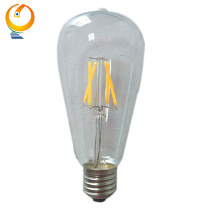 ST64 60W E27 Vintage Edison Filament Decorative Light Bulbs
