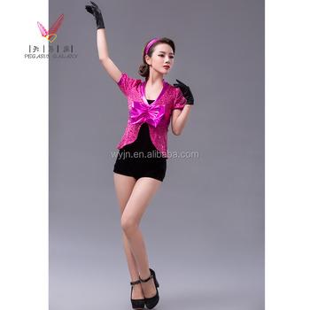 Toutes les couleurs pas cher brillant enfants costumes de danse paillettes  justaucorps femmes robes 43511ddbdb5