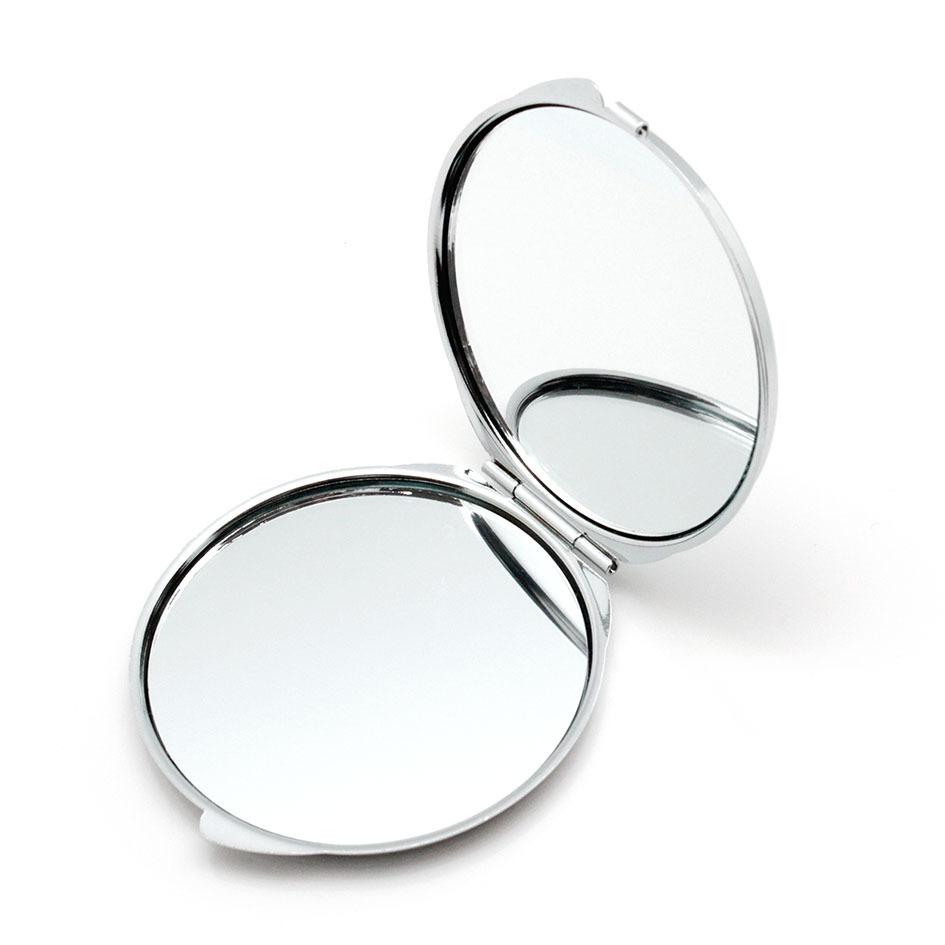 Folding round pocket makeup mirror wholesale pocket mirror for Wholesale mirrors