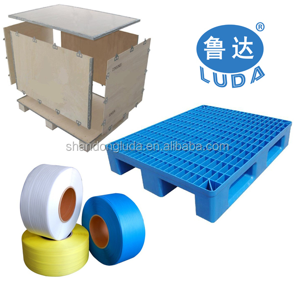 Luda supplier clear soft PVC plastic stretch wrapping film