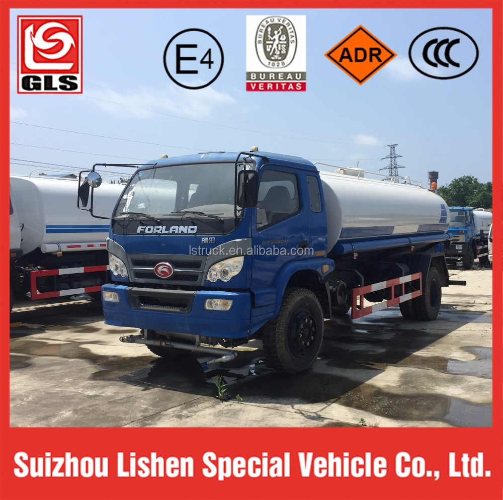 Forland water tank truck,water delivery truck