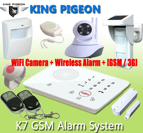 Gsm Camera Wifi Gsm Home Security Alarm System Made In China K10 ...